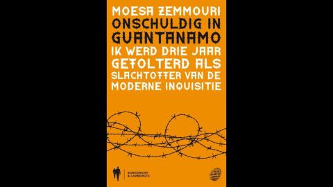 """Moussa Zemmouri's book """"Innocent at Quantanamo,"""" the Dutch vesion."""