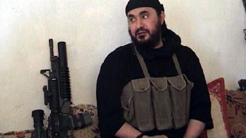Abu Musab al-Zarqawi in an undated photo from the U.S. Department of Defense.