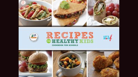 """Local chefs teamed up with school nutritionists, kids, parents and other interested community members to brainstorm, create and test healthy recipes that were designed to make a better school lunch.  They entered those recipes into a national <a href=""""http://www.whatscooking.fns.usda.gov/sites/default/files/featuredlinks/cookbook-homes.pdf"""" target=""""_blank"""" target=""""_blank"""">Recipes for Healthy Kids</a> competition, part of first lady Michelle Obama's Let's Move initiative. While it all happened back in 2010, those winning recipes are still just as tasty -- and nutritious -- today. Even if your local school is not including these healthy choices in their lunch menus -- <a href=""""http://www.cnn.com/2015/03/23/health/healthy-school-lunches/"""">and they probably should</a> -- you can make them part of your back-to-school meal choices. We've included a link on every picture to the full recipe."""
