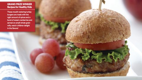 """<a href=""""http://www.cnn.com/2015/08/05/health/porcupine-sliders-kids-recipe/index.html""""><strong>CLICK HERE FOR FULL RECIPE</strong></a><br /><br />Studies show kids like to eat food with fun names, but this grand prize winner is as nutritious as it is tasty and fun to say.  The recipe for Porcupine Sliders was dreamed up by Chef Todd Bolton and students, community members and school professionals from the South Education Center Alternative School in Richfield, Minnesota."""