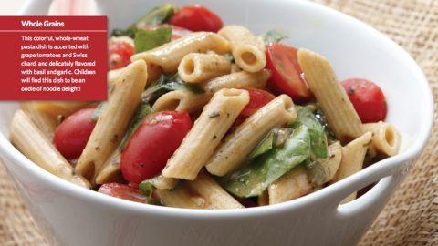 """<a href=""""http://www.cnn.com/2015/08/05/health/oodles-of-noodles-kids-recipe/index.html""""><strong>CLICK HERE FOR FULL RECIPE </strong></a><br />Kids love oodles of noodles, so this top recipe is a perfect choice for a healthy lunch or dinner.   It was submitted by Chef Patsy Bentivegna and kid testers from Lincoln Junior High School in Skokie, Illinois."""