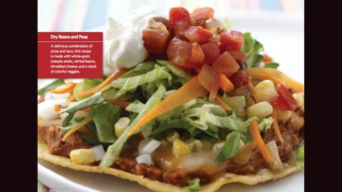 """<a href=""""http://www.cnn.com/2015/08/05/health/eagle-pizza-kids-recipe/index.html""""><strong>CLICK HERE FOR FULL RECIPE</strong></a><br />The name might be a stretch, but if your kids find it funny and eat it, who cares?  This tasty version of a personal pizza comes from Chef Ruth Burrows and the kids from Byars Elementray School in Byars, Oklahoma."""