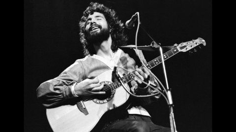 """Folk singer Cat Stevens, who later changed his name to Yusef Islam, had a knack for quiet, catchy songs with messages of peace. Among his notable hits of the era: """"Morning has Broken,"""" """"Wild World"""" and """"Peace Train,"""" an anti-war song that offered optimism instead of protest."""