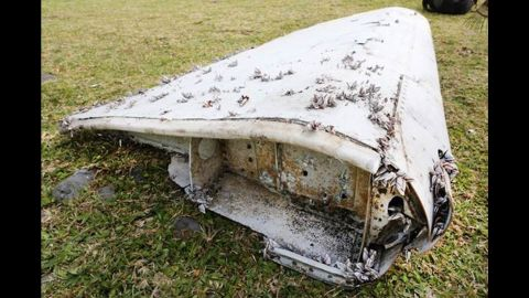 """Malaysia Airlines flight 370 disappeared on March 8, 2014. As of October 2016, authorities have definitively linked three pieces of debris to the plane, while four other pieces are believed to """"almost certainly"""" come from the missing aircraft.  A flaperon from a Boeing 777 was found on Reunion Island in the Indian Ocean in July 2015. Authorities later confirmed the debris came from MH370."""