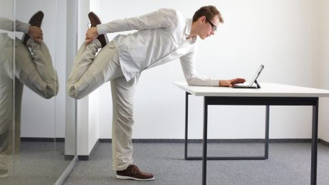 The new recommendations are to mix sitting with standing and moving at work. Gadgets and gears can help, even if you have to try out different ones until you find what works for you.