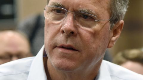Republican presidential candidate and former Florida Gov. Jeb Bush speaks at a town hall meeting at the Valley View Recreation Center on June 27, 2015 in Henderson, Nevada.