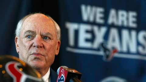 Bob McNair, who died Friday, was known as the man who brought the NFL back to Houston.