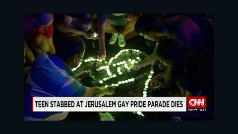 israel gay pride teen stab death robertson lklv_00001403.jpg