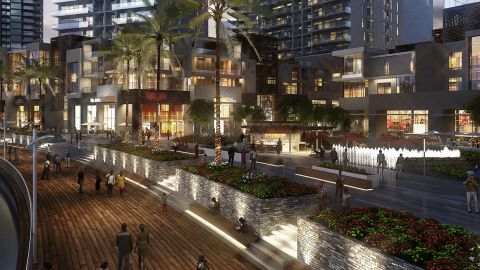 Eko Atlantic is being built along Lagos's upmarket Bar Beach coastline. It will provide classy accommodation and high-tech infrastructure.