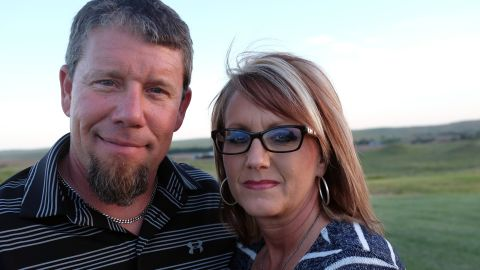 Steve and Julie Milton lost a relative in a 2014 wildfire. Such fires are expected to become more widespread.