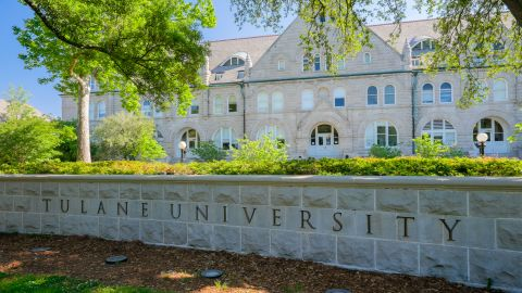 Tulane University in New Orleans came in ninth on the list of hardest partiers.
