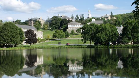The stately campus of Colgate University in Hamilton, New York, ranked 10th on the annual list of top party schools.