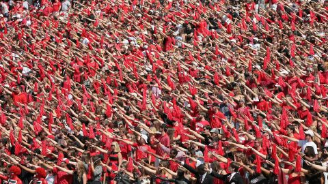 The University of Georgia Bulldogs came in eighth when it comes to having a good time.