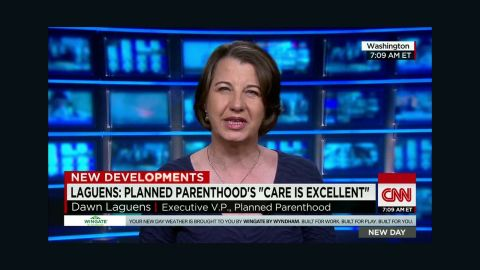 Planned Parenthood Laguens political games interview Newday _00013224.jpg