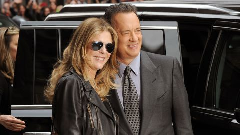 """Tabloids love to sound the death knell for the longtime marriage of Rita Wilson and Tom Hanks.<a href=""""http://www.gossipcop.com/tom-hanks-rita-wilson-divorce-split/"""" target=""""_blank"""" target=""""_blank""""> The stories keep getting refuted, </a>and the couple keeps on going."""
