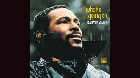 """<strong>""""What's Going On,"""" Marvin Gaye</strong>: Like most Motown artists, Marvin Gaye stayed with the label's don't-rock-the-boat program in the 1960s. But his landmark 1971 album, inspired in part by his brother's return from Vietnam, took on the woes of America and the black experience. The cover photo, of a brooding Gaye in the rain, captures the tone perfectly."""