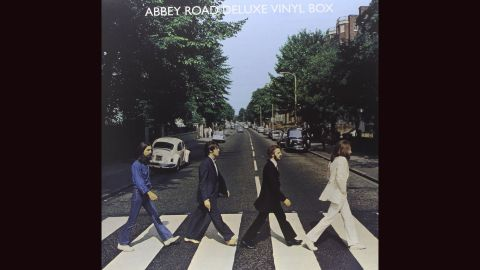 """<strong>""""Abbey Road,"""" the Beatles</strong>: Any number of Beatles albums could make this list, whether it's Robert Freeman's great cover for """"With the Beatles"""" or the phantasmagoria of """"Sgt. Pepper's Lonely Hearts Club Band."""" Yet 1969's """"Abbey Road"""" features a <a href=""""http://www.nme.com/photos/-abbey-road-31-tributes-and-parodies/269514#/photo/7"""" target=""""_blank"""" target=""""_blank"""">much-parodied Iain Macmillan photograph</a> and showcases the band going out on top. No wonder <a href=""""http://www.thebeatles.com/photo-album/recording-abbey-road"""" target=""""_blank"""" target=""""_blank"""">they considered calling it """"Everest.""""</a>"""