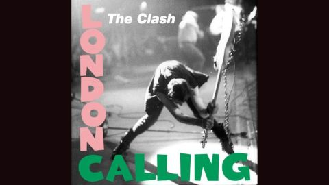 """<strong>""""London Calling,"""" the Clash</strong>: """"The only band that mattered"""" did Elvis Presley one better with their 1979 album, using the design of <a href=""""https://en.wikipedia.org/wiki/Elvis_Presley_(album)#/media/File:Elvis_Presley_LPM-1254_Album_Cover.jpg"""" target=""""_blank"""" target=""""_blank"""">Presley's 1956 debut</a> and coupling it with a ferocious Pennie Smith photograph of Paul Simonon smashing his bass. The music was equally fierce."""