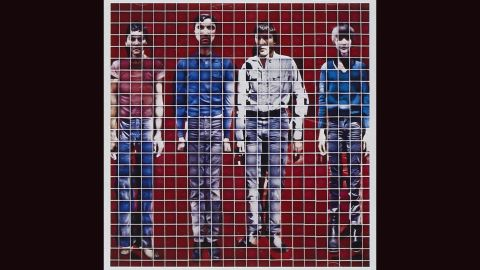 """<strong>""""More Songs about Buildings and Food,"""" Talking Heads</strong>: This most artistic of bands -- in fact, they were once called """"the Artistics"""" -- liked artsy album covers. 1978's """"Buildings and Food"""" cover consisted of a band portrait constructed with Polaroids. Jimmy De Sana did the work."""
