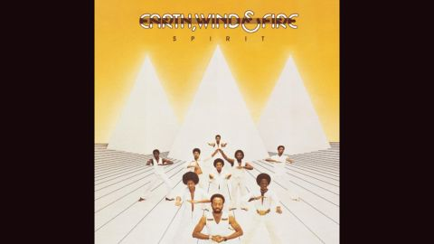 """<strong>""""Spirit,"""" Earth, Wind & Fire</strong>: Funk could go to otherworldly places, and Earth, Wind & Fire's covers regularly showed off a love of pyramids and Egyptian imagery. """"Spirit,"""" a 1976 release, was one of the band's more minimalist efforts; check out """"All 'n' All"""" and """"I Am"""" for more dramatic illustrations."""
