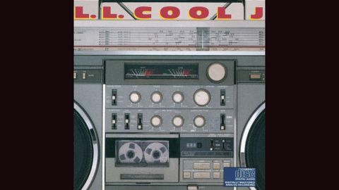 """<strong>""""Radio,"""" LL Cool J</strong>: Few items were as indicative of early rap than the boombox, and for his 1985 album, LL Cool J went with a big closeup of the necessary item. """"I can't live without my radio,"""" he raps -- but fans picked up the LP."""