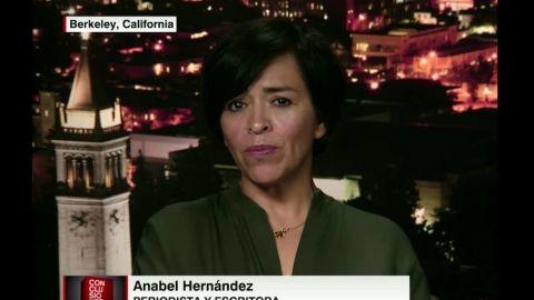 Investigative reporter Anabel Hernandez
