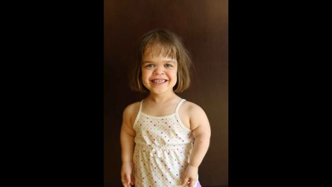 """Irina, in her own words: """"I was born in Russia. I was put in an orphanage when I was 4 days old. My mom and dad adopted me when I was five, now I live in Maine. I have two younger sisters. I have achondroplasia, which is the most common form of dwarfism. My bones just don't grow as fast as the average kids, so I'm short. I like Spider-Man, Batman, pirates and trucks. I like to ride my bike and play basketball."""""""