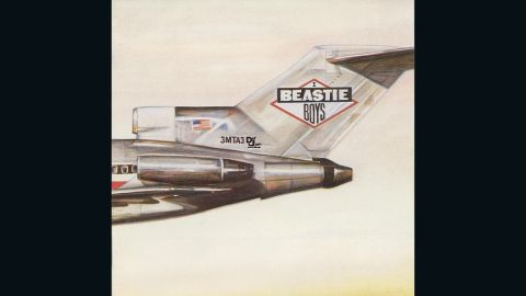 """<strong>""""Licensed to Ill,"""" the Beastie Boys</strong>: CDs and MP3s can't approach the versatility of the LP album cover in its expansiveness. From the front, the Beasties' 1986 debut looks like the tail section of a plane. Open the cover, though, and you see the picture is continued on the back ... <a href=""""http://mimg.ugo.com/200808/16335/Licensed-to-ill.jpg"""" target=""""_blank"""" target=""""_blank"""">with the plane crashed into a mountainside</a>. Art by World B. Omes."""