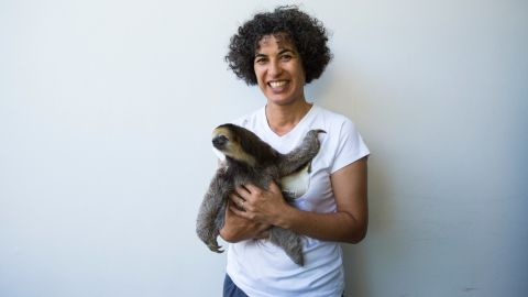 CNN Hero 2015 nominee Monique Pool has been helping rescue animals in her native Suriname since 2005. She is recognized for her particular interest in three-toed and two-toed sloths, of which she has rescued and released several hundred in the past decade.Photo by John Nowak/CNN