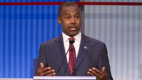 """Republican presidential candidate<a href=""""http://www.cnn.com/interactive/2015/05/politics/2016-election-candidates/#Carson""""> Ben Carson</a>, a retired neurosurgeon, rose to national prominence in 2013 after harshly critiquing the Affordable Care Act at the National Prayer Breakfast, when he warned the U.S. is traveling down the same path as ancient Rome.<br /><br />Carson, the only African-American onstage, said he was once asked by a reporter why he doesn't talk more about race. """"I said it's because I'm a neurosurgeon,"""" he said. When you operate on someone's brain, he added, """"the skin doesn't make them who they are."""" He was operating on the part that makes them who they are, not their skin, he said. The response earned him applause. <br />"""