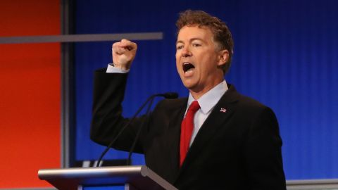 """Kentucky Sen. <a href=""""http://www.cnn.com/interactive/2015/05/politics/2016-election-candidates/#Paul"""">Rand Paul</a> has been in office since 2011. Paul also worked on the congressional and presidential campaigns for his father, former U.S. Rep. Ron Paul. Rand Paul gained national attention by riding the 2010 tea party wave to become the junior U.S. senator from Kentucky following a tough battle in the GOP primary."""