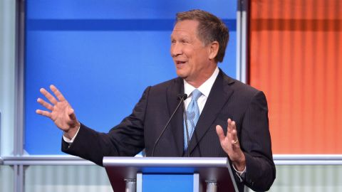 """Ohio Gov. <a href=""""http://www.cnn.com/interactive/2015/05/politics/2016-election-candidates/#Kasich"""">John Kasich</a> was elected to the U.S. House in 1982 and represented Ohio until he unsuccesfully ran for president in 2000. After a nine-year stint in the private sector, Kasich ran a successful campaign for governor of Ohio in 2010, when he defeated Democratic incumbent Gov. Ted Strickland. He was re-elected by a wide margin in 2014.<br /><br />""""Trump's hitting a nerve in this country,"""" Kasich said. """"For people that want to just tune him out, they're making a mistake."""""""