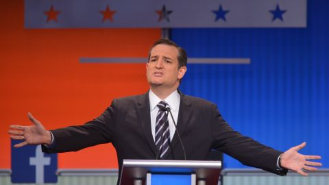 """Texas Sen. <a href=""""http://www.cnn.com/interactive/2015/05/politics/2016-election-candidates/#Cruz"""">Ted Cruz</a> was elected to the U.S. Senate in 2012, after he rallied conservative and tea party support in Texas, and has since been one of the Senate's most vocal critics of Obamacare. He was the first Republican candidate to announce a campaign for the presidency. <br /><br />""""A majority of the candidates on this stage have supported amnesty.,"""" said Cruz. """"I have never supported amnesty."""""""
