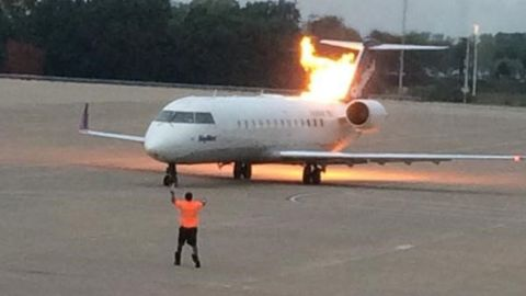 This photograph was taken by a traveler at the Nashville airport.