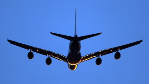 LONDON, ENGLAND - APRIL 02: An aeroplane comes in to land at Heathrow airport at sunset on April 2, 2011 in London, England. (Photo by Dan Kitwood/Getty Images)