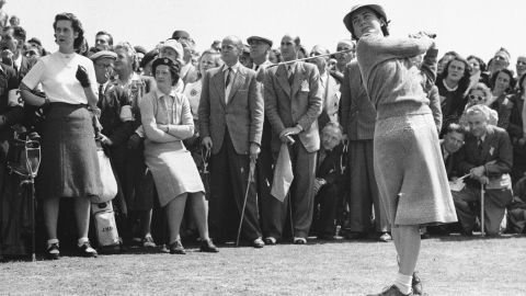 """<a href=""""http://www.cnn.com/2015/08/07/us/lpga-founder-louise-suggs-dies-at-91/index.html"""" target=""""_blank"""">Louise Suggs,</a> one of the 13 founders of the Ladies Professional Golf Association, died at the age of 91, the LPGA announced on August 7."""