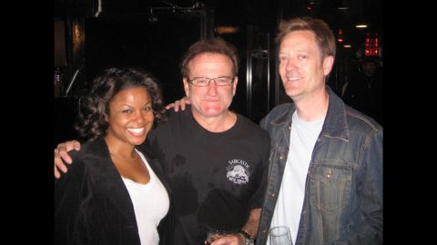 """After finishing a set at Los Angeles' Comedy Store in 2006, <a href=""""http://ireport.cnn.com/docs/DOC-1160690"""">Kirk Bovill </a>realized Williams was watching from the back entrance. Their producer invited Williams to come on stage, and he did a set with the whole group."""