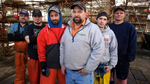 """Discovery Channel's """"Deadliest Catch"""" star <a href=""""http://www.cnn.com/2015/08/11/entertainment/deadliest-catch-captain-tony-lara-dead-feat/index.html"""" target=""""_blank"""">Tony Lara</a>, center, died while in Sturgis, South Dakota, for the famed motorcycle rally that takes over the city each August."""