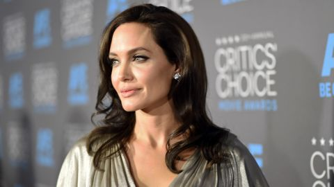 LOS ANGELES, CA - JANUARY 15:  Director/actress Angelina Jolie attends the 20th annual Critics' Choice Movie Awards at the Hollywood Palladium on January 15, 2015 in Los Angeles, California.  (Photo by Michael Buckner/Getty Images for BFCA)