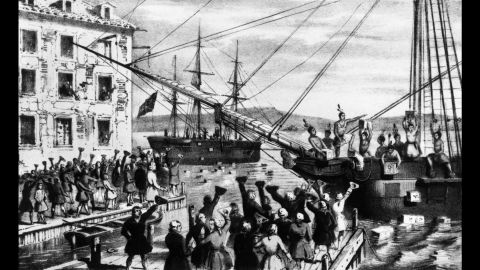 By 1730, tea had replaced coffee in London as the daily drink of choice. That preference continued in the colonies until 1773, when the famous Boston Tea Party made it unpatriotic to drink tea. Coffee houses popped up everywhere, and the marvelous stimulant qualities of the brew were said to contribute to the ability of the colonists to work longer hours.