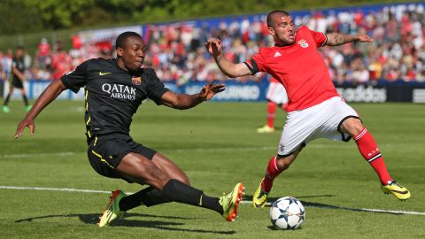 Aston Villa has secured the signing of 19-year-old winger Adama Traore from Barcelona for $13.3 million. Traore, the English Premier League club's 10th buy this summer, has penned a five-year deal at Villa Park. Barca has inserted a buy-back clause in the deal enabling it to bring Traore back to the Camp Nou.
