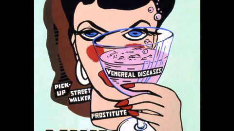 """From the book by Boyo Press, """"Protect Yourself: Venereal Disease Posters of World War II"""""""