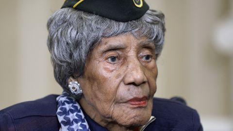 """The country's oldest known living veteran, <a href=""""http://www.cnn.com/2015/08/18/politics/veteran-dies-month-after-meeting-obama/index.html"""" target=""""_blank"""">Emma Didlake</a>, died August 16, just one month after being honored by President Barack Obama in Washington. Didlake was 110 years old."""