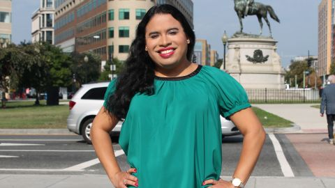 Raffi Freedman-Gurspan is the first openly transgender White House staff member. She will serve as an outreach and recruitment director in the White House Office of Presidential Personnel.