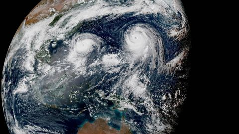 """<a href=""""http://www.cnn.com/2015/08/20/world/two-typhoons-pacific-asia/"""">Two typhoons, Typhoon Goni and Super Typhoon Atsani, roil over the Pacific in August 2015.</a> Atsani became a super typhoon (equivalent of a Category 4 or 5 storm) on August 19 as it churned northeast of Guam and Saipan."""