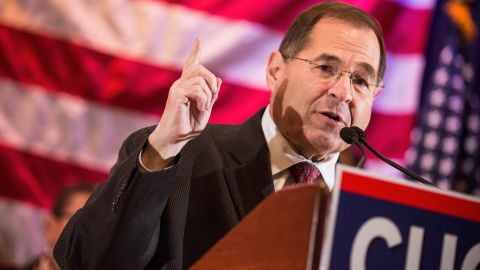 NEW YORK, NY - OCTOBER 30: U.S. Representative Jerry Nadler (D-NY) speaks at an event to support the reelection of New York state Governor Andrew Cuomo on October 30, 2014 in New York City. Citizens go to the polls next Tuesday, November 4. (Photo by Andrew Burton/Getty Images)