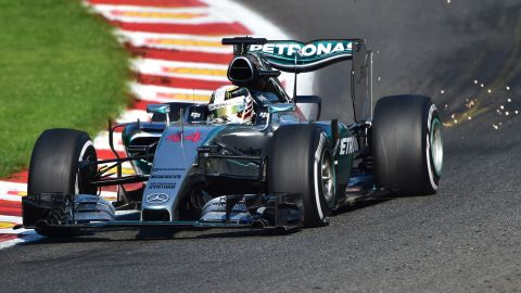 Mercedes' British driver Lewis Hamilton has led qualifying at 10 of 11 race weekends this season.