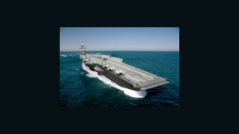 A photo illustration of the U.S. Navy's Gerald R. Ford-class aircraft carrier USS John F. Kennedy (CVN-79). The ship's keel laying ceremony was celebrated Saturday, August 22, 2015, in Newport News, Virginia. The ship is expected to replace the USS Nimitz (CVN-68), scheduled for inactivation in 2025, in the Navy fleet. The newest Kennedy will be the second carrier of that name. The first John F. Kennedy (CVA-67) was the last conventionally powered carrier. It was decommissioned in 2007.