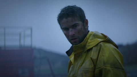 """Chace Crawford stars as a man determined to make it as an entrepreneur in North Dakota in the drama """"Blood and Oil."""""""