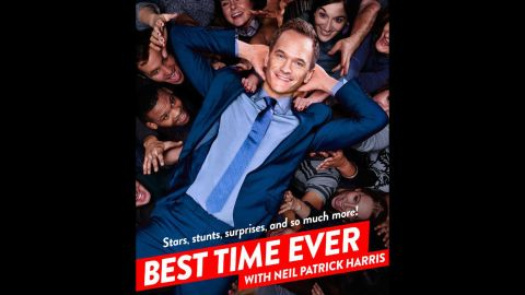 """Neil Patrick Harris has proven with his awards show gigs that he's the host with the most. He'll get to show that off on the variety show """"Best Time Ever with Neil Patrick Harris."""""""